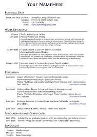 Best Sample Of Resume by Personal Interests Resume Resume For Your Job Application