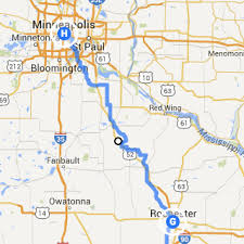 rochester mn map trip log day 42 rochester mn to minneapolis mn how will we
