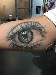 healed eye tattoo realistic tattoo by ryan foley tattoo