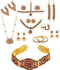 buy bharatanatyam set 10 items at low prices in