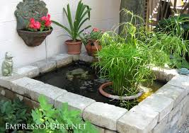 Paving Ideas For Backyards 17 Beautiful Backyard Pond Ideas For All Budgets Empress Of Dirt