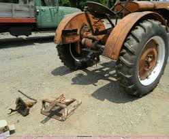 1934 allis chalmers wc tractor item y9009 sold august 7