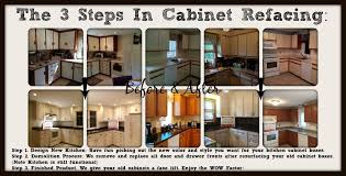 Kitchen Cabinets Refacing Diy Kitchen Cabinet Refacing Ideas - Kitchen cabinet refacing before and after photos