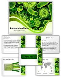 free templates for powerpoint bacteria professional bacteria cells editable powerpoint template