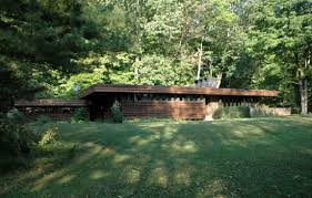 on the market frank lloyd wright style three bedroom property in