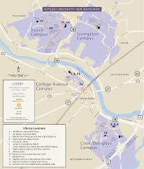 Rutgers Map Rutgers University Libraries U0027 Staff Resources New Brunswick