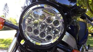 how to install led strip lights on a motorcycle install a 7 inch led motorcycle headlight quickly and easily