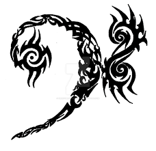 tribal bass clef tattoo design by nerdymetalheadlg on deviantart