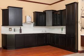 rta wood kitchen cabinets latest details about shaker java kitchen cabinets sl e door rta