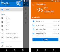 unzip for android apk winzip zip unzip tool apk version 4 1 1
