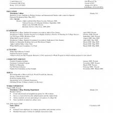 Resume Template For College Student With Little Work Experience Nice Resume Examples Of Beautiful Cv Web Templates S For College