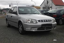 hyundai accent gls specifications 2001 hyundai accent 1 3i gls 3 car photo and specs