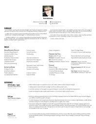 Medical Device Resume Resume U2014 Karin Curkowicz