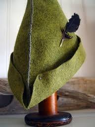 como hacer un sombrero de robin hood en fieltro peter pan hat i diy hat robin hoods and triangle shape