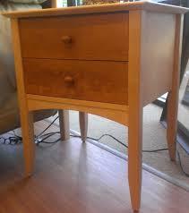stunning natural maple nightstand best bedroom furniture plans