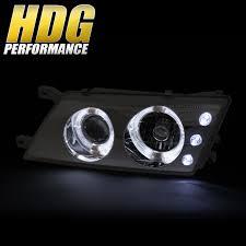 nissan sentra drive arabia fits 1995 1998 nissan sentra 200sx projector dual halo headlight