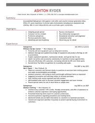 Sample Resumes For Retail by Best Retail Salesperson Resume Example Livecareer