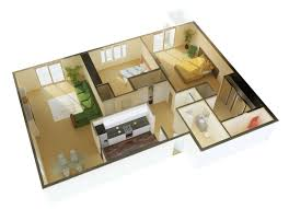 Small Three Bedroom House Plans Ideas For Inside 3 Small Bedroom Houses Home Combo