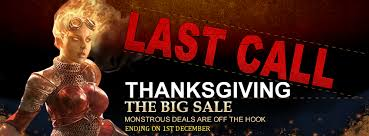 magic the gathering thanksgiving the big sale last call www