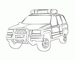 police car transportation coloring pages for kids womanmate com