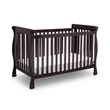 Black 4 In 1 Convertible Crib by Delta Children Riverside 4 In 1 Convertible Crib Dark Chocolate