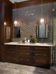 Pendant Lighting Over Bathroom Vanity Standard Height Of Bathroom Mirror Bathroom Decor Pinterest