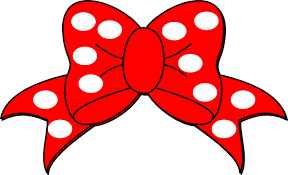 mickey ribbon mouse bow tie clipart