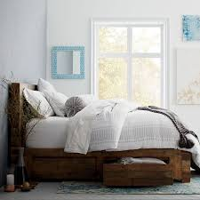 bedroom sheet sets distressed wood furniture cheap amazing emmerson reclaimed wood storage bed natural west elm