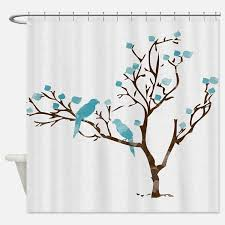 blue brown shower curtains blue brown fabric shower curtain liner