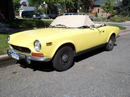 Down On The Mile High Street Fiat 124 Sport Spider The Truth