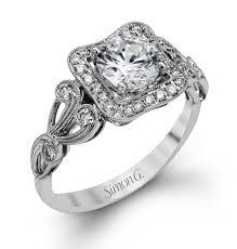 simon g engagement rings simon g collection 18k 0 27ctw engagement ring