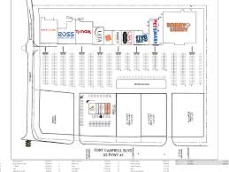 Strip Mall Floor Plans Hopkinsville Ky Hopkinsville Towne Center Retail Space For