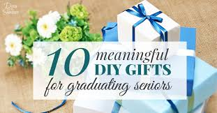 gifts for graduating seniors 10 meaningful diy graduation gifts for seniors decor by the seashore
