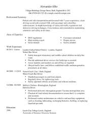 Transportation Resume Examples by Bus Driver Resume Sample Jennywashere Com