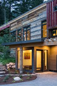 modern farmhouse in the woods old pass road wilson wyoming