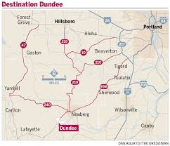 Oregon Wineries Map by Dundee In Heart Of Oregon Wine Country Offers Reasons To Pull Off