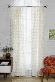 White Ruffled Curtains For Nursery by 46 Best Curtains Images On Pinterest Window Treatments Curtains