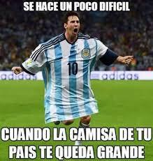 Los Memes De Messi - meme la banco 27 06 2016 ol