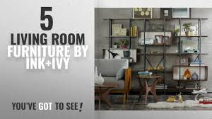 ink ivy blaze brown triangle wood side table top 10 ink ivy living room furniture 2018 triangle wood coffee