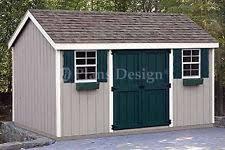 shed plans ebay