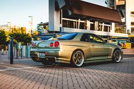 gold nissan car pictures nissan gt r gold r34 skyline auto