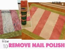 two it yourself how to remove nail polish from clothes and carpet