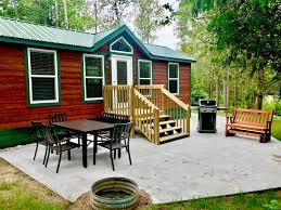 petoskey michigan cabin accommodations petoskey koa