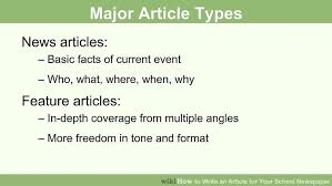 biography interview questions for high school students how to write an article for your school newspaper with pictures