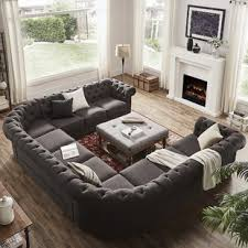 Section Sofas Gray Sectional You Ll Wayfair