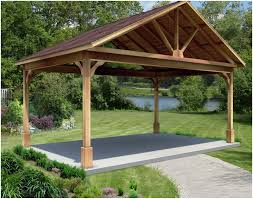 backyard pavilion home outdoor decoration