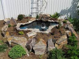 Backyard Ponds And Fountains How To Build A Raised Pond Backyard Gardening Blog My Garden