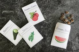 seed packets southern garden heirloom seed packet free printable
