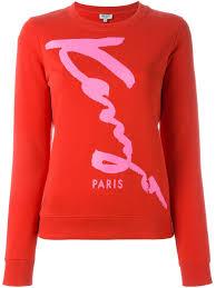 kenzo cheap sweatshirt sale kenzo u0027kenzo signature u0027 sweatshirt