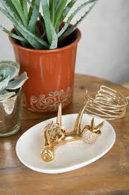 gold antler ring dish jewelry holders francesca u0027s